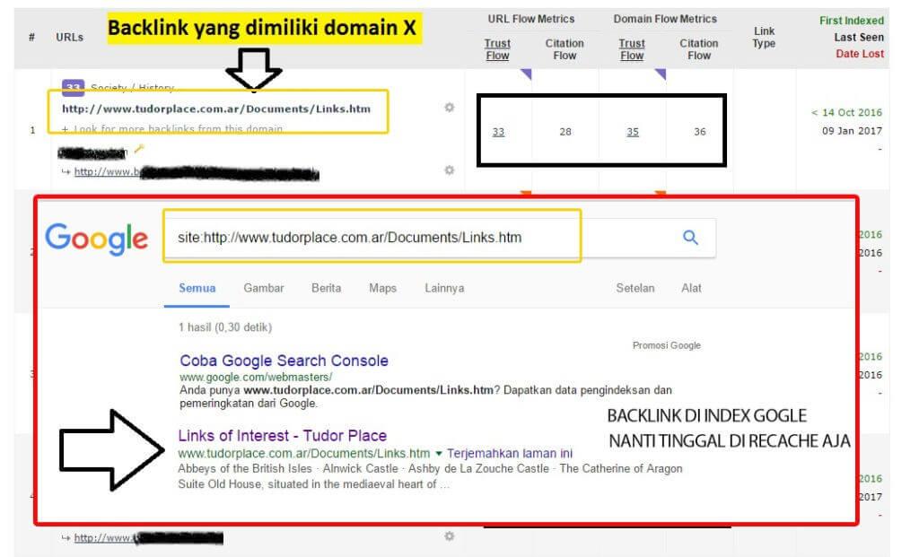 Backlink Terindex Google