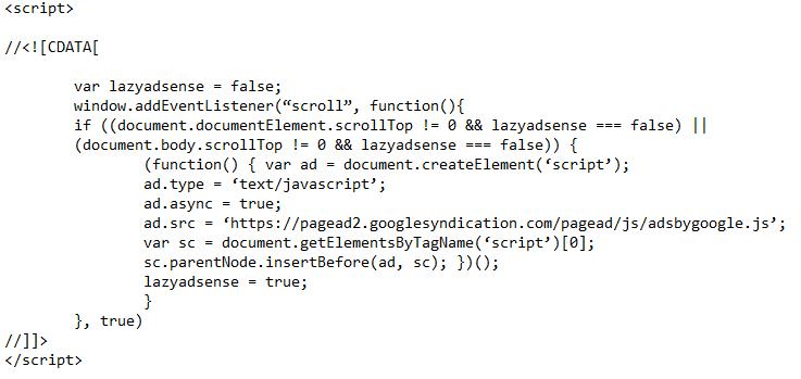 Script LazyLoad