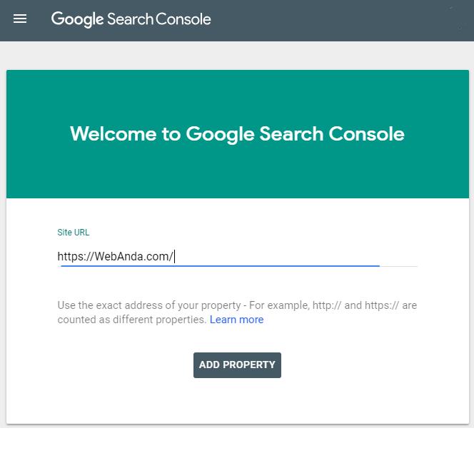 Masukan Halaman Web Anda Di Kolom Yang Tersedia