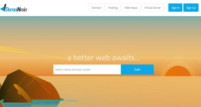 Review Domainesia Web Hosting Dengan Performance Terbaik (Speed dan Uptime)