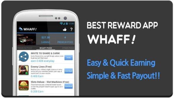 5 Cara Menghasilkan Uang dari Aplikasi Whaff Rewards