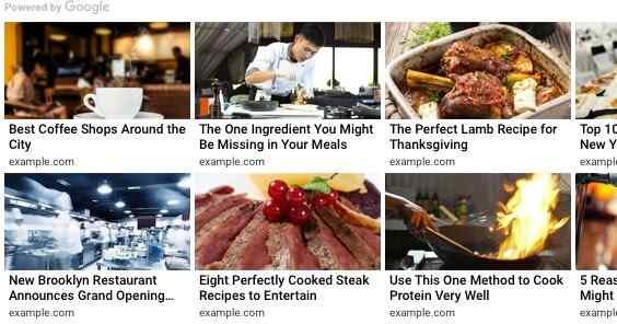 5 Cara Mendapatkan Matched Content Google Adsense